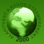A rákos gyermekekért alapítvány logo